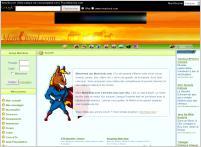 Apperçu du site